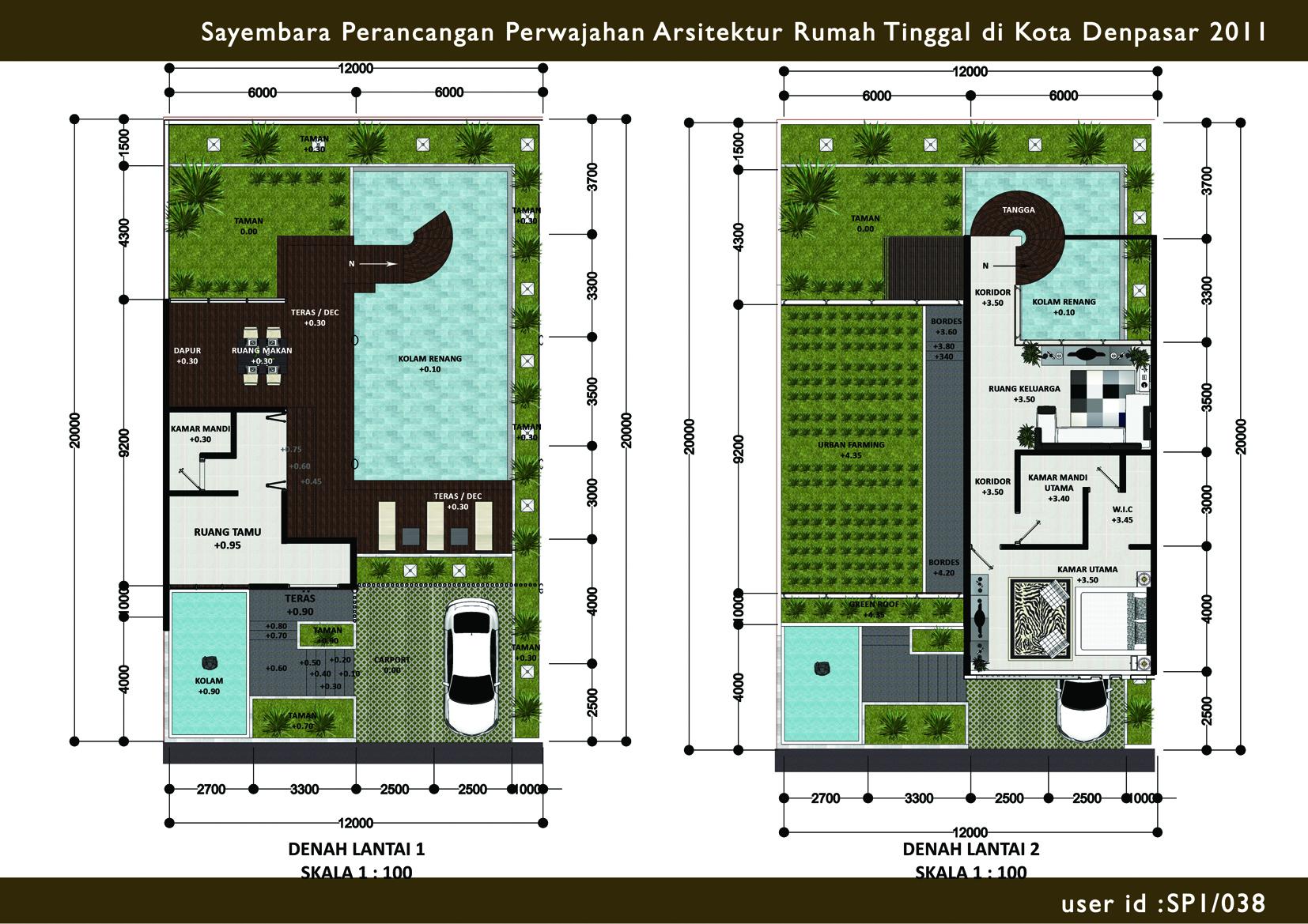 sayembara perancangan rumah tinggal di bali 2011 past design