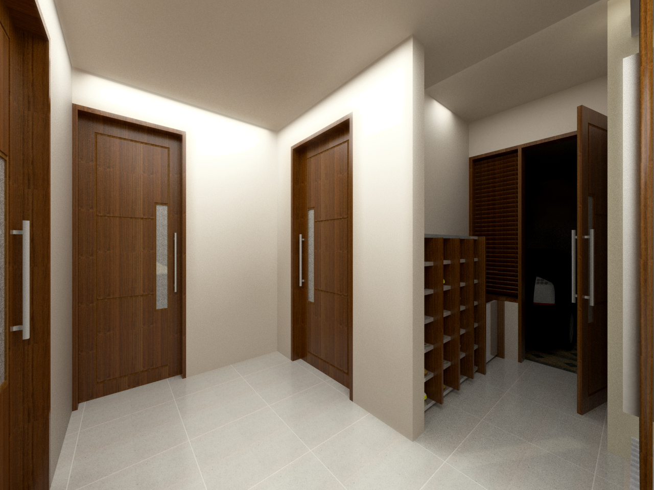 Interior Project House Lampung Past Design