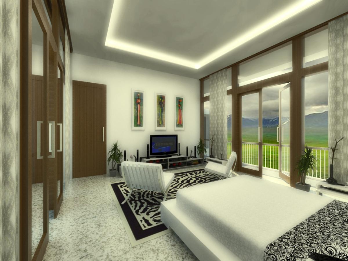 interior kamar utama 2 past design